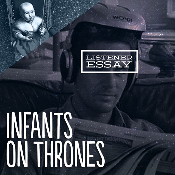 "infants on thrones listener and fan of the show jake sits down tom and kim gustavsson to talk about his listener submitted essay titled ""verbal jiujitsu"""